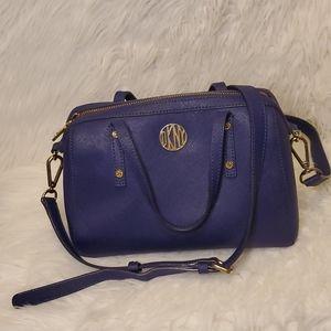 DKNY Zippered Crossbody/ Shoulder bag  Navy Blue